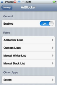 Cydia Ad Blocker